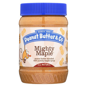 Peanut Butter And Co Peanut Butter - Mighty Maple - Case Of 6 - 16 Oz.