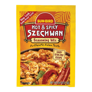 Sunbird Mix - Hot & Spicy Szechwan - Case Of 24 - .75 Oz