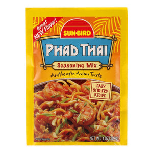 Sunbird Mix - Pad Thai - Case Of 24 - 1 Oz
