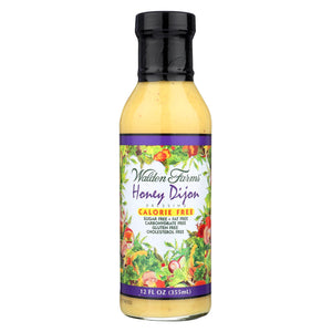 Walden Farms Dressing - Honey Dijon - Case Of 6 - 12 Fl Oz