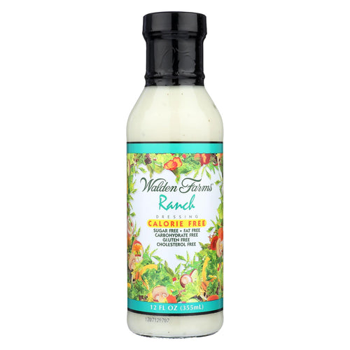 Walden Farms Ranch - Calorie Free Dressing - Case Of 6 - 12 Fl Oz.
