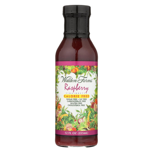 Walden Farms Vinaigrette - Raspberry - Case Of 6 - 12 Fl Oz
