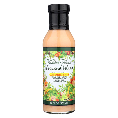 Walden Farms Dressing - Thousand Island - Case Of 6 - 12 Fl Oz