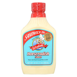 Woeber's Sauce - Horseredish - Case Of 6 - 16 Oz.