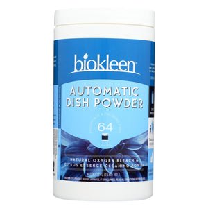 Biokleen Automatic Dish Powder With Natural Oxygen Bleach - 32 Oz