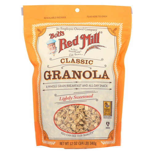 Bob's Red Mill - Natural Whole Grain Granola - 12 Oz - Case Of 4
