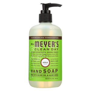Mrs. Meyer's Clean Day - Liquid Hand Soap - Apple - Case Of 6 - 12.5 Oz