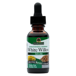 Nature's Answer White Willow Bark Alcohol Free - 1 Fl Oz