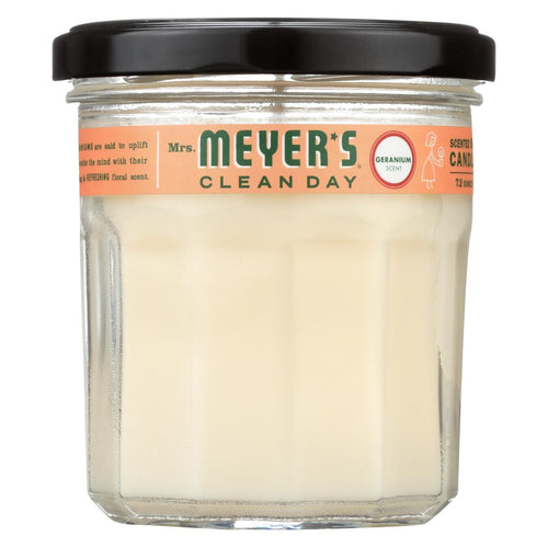 Mrs. Meyer's Clean Day - Soy Candle - Geranium - Case Of 6 - 7.2 Oz Candles