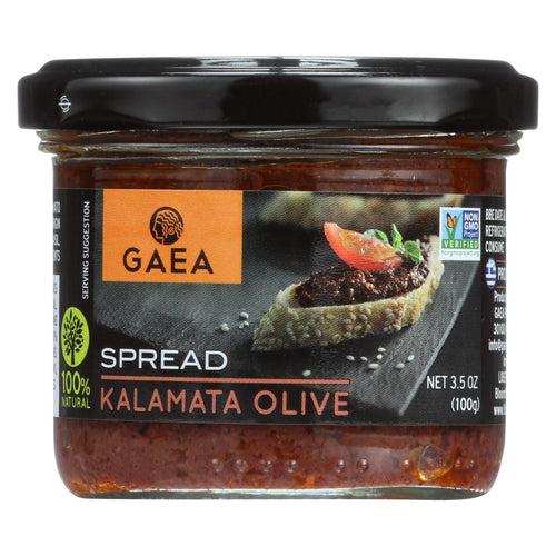 Gaea Kalamata Olive Tapenade - Case Of 6 - 3.53 Oz