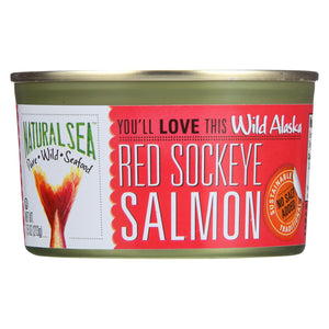 Natural Sea Wild Sockeye Salmon - Unsalted - 7.5 Oz.