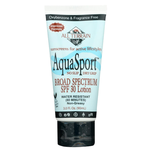 All Terrain - Aquasport Spf 30 Sunscreen - 3 Fl Oz