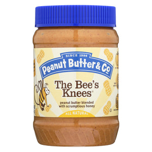 Peanut Butter And Co The Bee's Knees - Peanut Butter - Case Of 6 - 16 Oz.