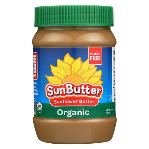 Sunbutter Sunflower Butter - Organic - Case Of 6 - 16 Oz.