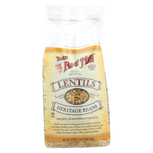 Bob's Red Mill - Lentils Beans - 27 Oz - Case Of 4