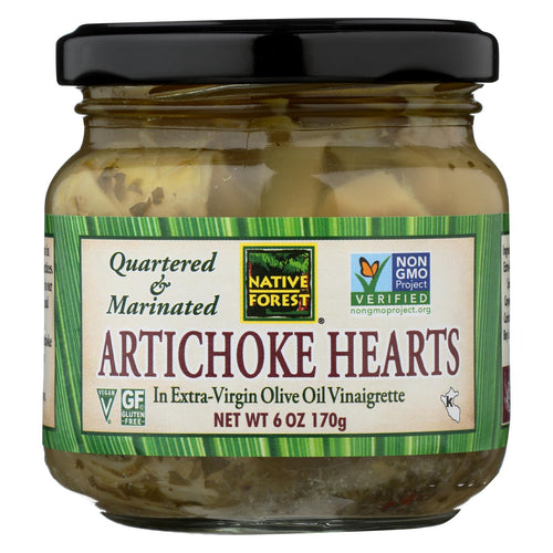 Native Forest Marinated Hearts - Artichoke - Case Of 6 - 6 Oz.