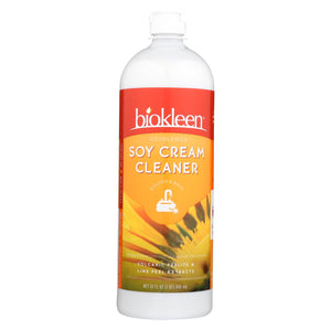 Biokleen Soy Cream Cleaner - Kitchen And Bath - 32 Oz