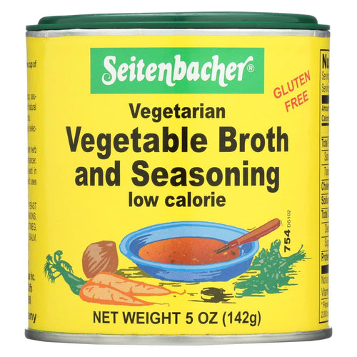 Seitenbacher Vegetarian Vegetable Broth And Seasoning - Case Of 6 - 5 Oz.