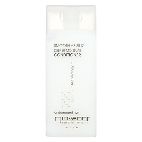 Giovanni Smooth As Silk Deeper Moisture Conditioner - 2 Fl Oz - Case Of 12