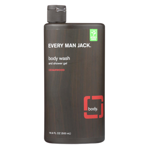 Every Man Jack Body Wash - Cedarwood - 16.9 Oz