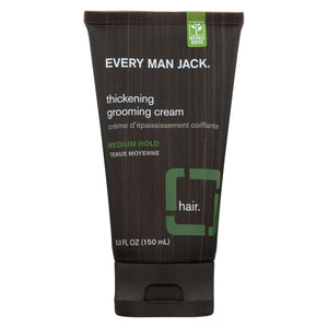 Every Man Jack Thickening Grooming Cream - Medium Hold - 5 Oz