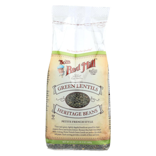Bob's Red Mill - Petite French Green Lentils - 24 Oz - Case Of 4