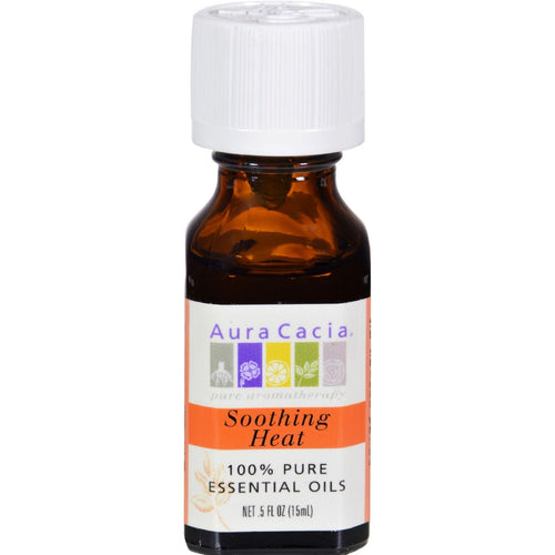 Aura Cacia - Pure Essential Oils Soothing Heat - 0.5 Fl Oz