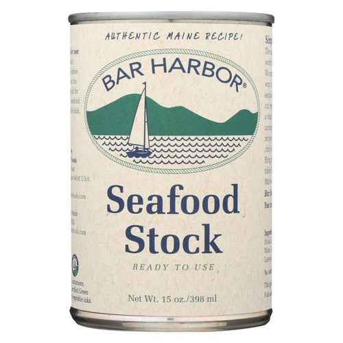 Bar Harbor - All Natural Seafood Stock - Case Of 6 - 15 Oz.