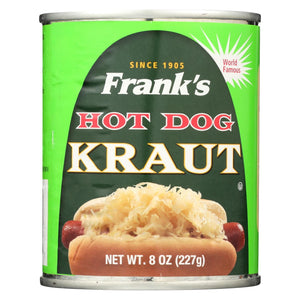 Frank's Kraut - Hot Dog - Case Of 12 - 8 Oz