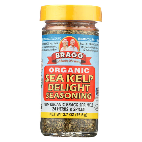 Bragg - Seasoning - Organic - Sea Kelp Delight - 2.7 Oz - Case Of 12