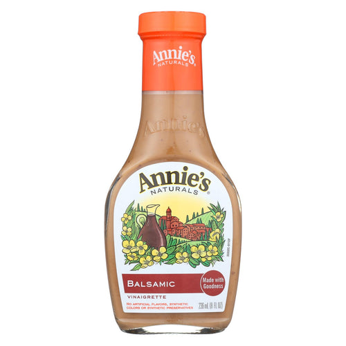 Annie's Naturals Vinaigrette Balsamic - Case Of 6 - 8 Fl Oz.