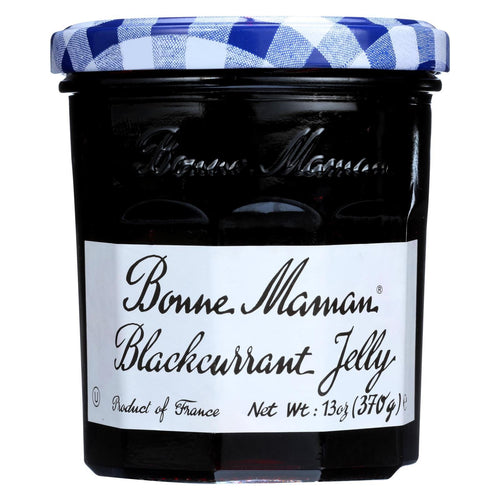 Bonne Maman Fruit Spread - Blackcurrant - Case Of 6 - 13 Oz.