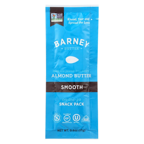 Barney Butter Almond Butter - Single - .6 Oz - Case Of 24