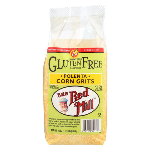 Bob's Red Mill - Gluten Free Corn Grits - Polenta - 24 Oz - Case Of 4