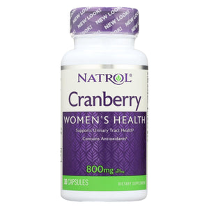 Natrol Cranberry Extract - 800 Mg - 30 Capsules