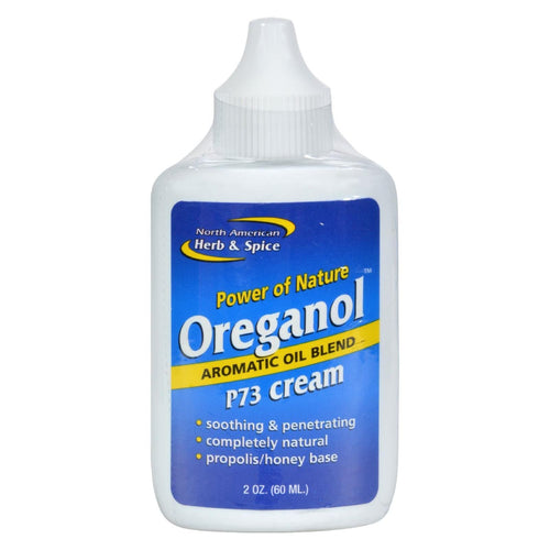 North American Herb And Spice Oreganol Oil Of Oregano Cream - 2 Oz
