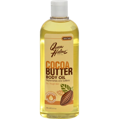 Queen Helene Natural Cocoa Butter Moisturizing Body Oil - 10 Fl Oz