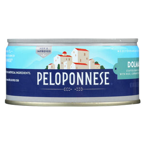 Peloponnese Dolmass Stuffed Grape Leaves - Raisins And Pine Nuts - Case Of 6 - 10 Oz.
