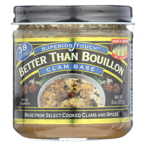 Better Than Bouillon Seasoning - Clam Base - Case Of 6 - 8 Oz.