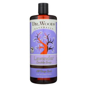 Dr. Woods Castile Soap Soothing Lavender - 32 Fl Oz
