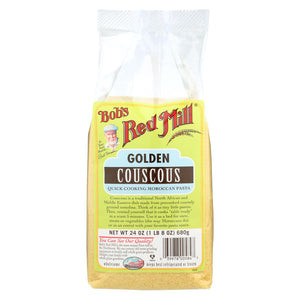 Bob's Red Mill Golden Couscous - 24 Oz - Case Of 4