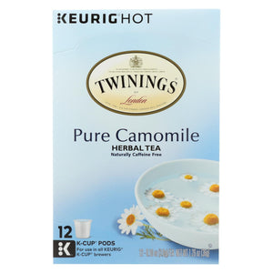 Twining's Tea Herbal Tea - Pure Chamomile - Case Of 6 - 12 Count