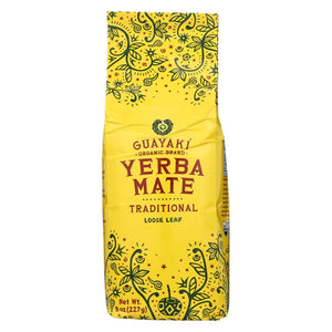 Guayaki Organic Yerba Mate - Traditional - Case Of 6 - 8 Oz.