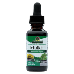Nature's Answer Mullein Leaf Alcohol Free - 1 Fl Oz