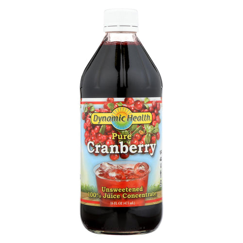 Dynamic Health Pure Cranberry Juice Concentrate - 16 Fl Oz