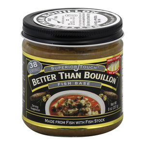 Better Than Bouillon Seasoning - Fish Base - Case Of 6 - 8 Oz.