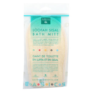 Earth Therapeutics Loofah Sisal Bath Mitt - 1 Loofah