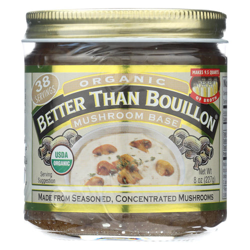 Better Than Bouillon Seasoning - Mushroom Base - Case Of 6 - 8 Oz.