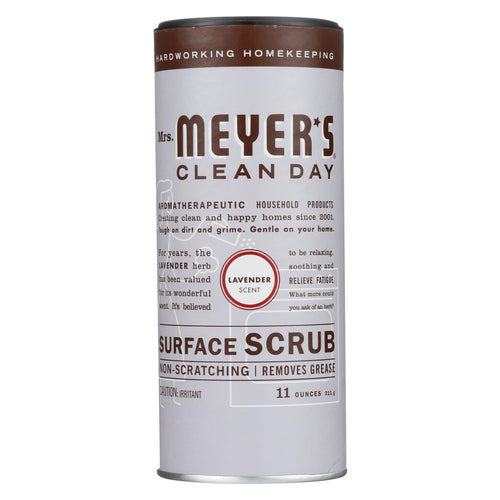 Mrs. Meyer's Clean Day - Surface Scrub - Lavender - Case Of 6 - 11 Oz