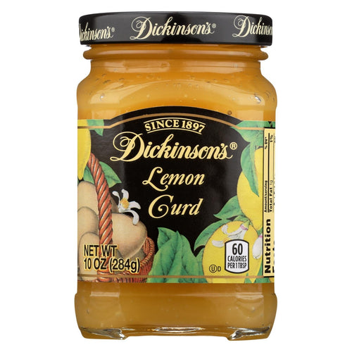 Dickinson Lemon Curd - Case Of 6 - 10 Oz.